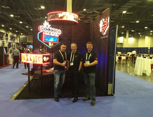 Thanks for visiting us at G2E in Las Vegas, Nevada / USA 2015