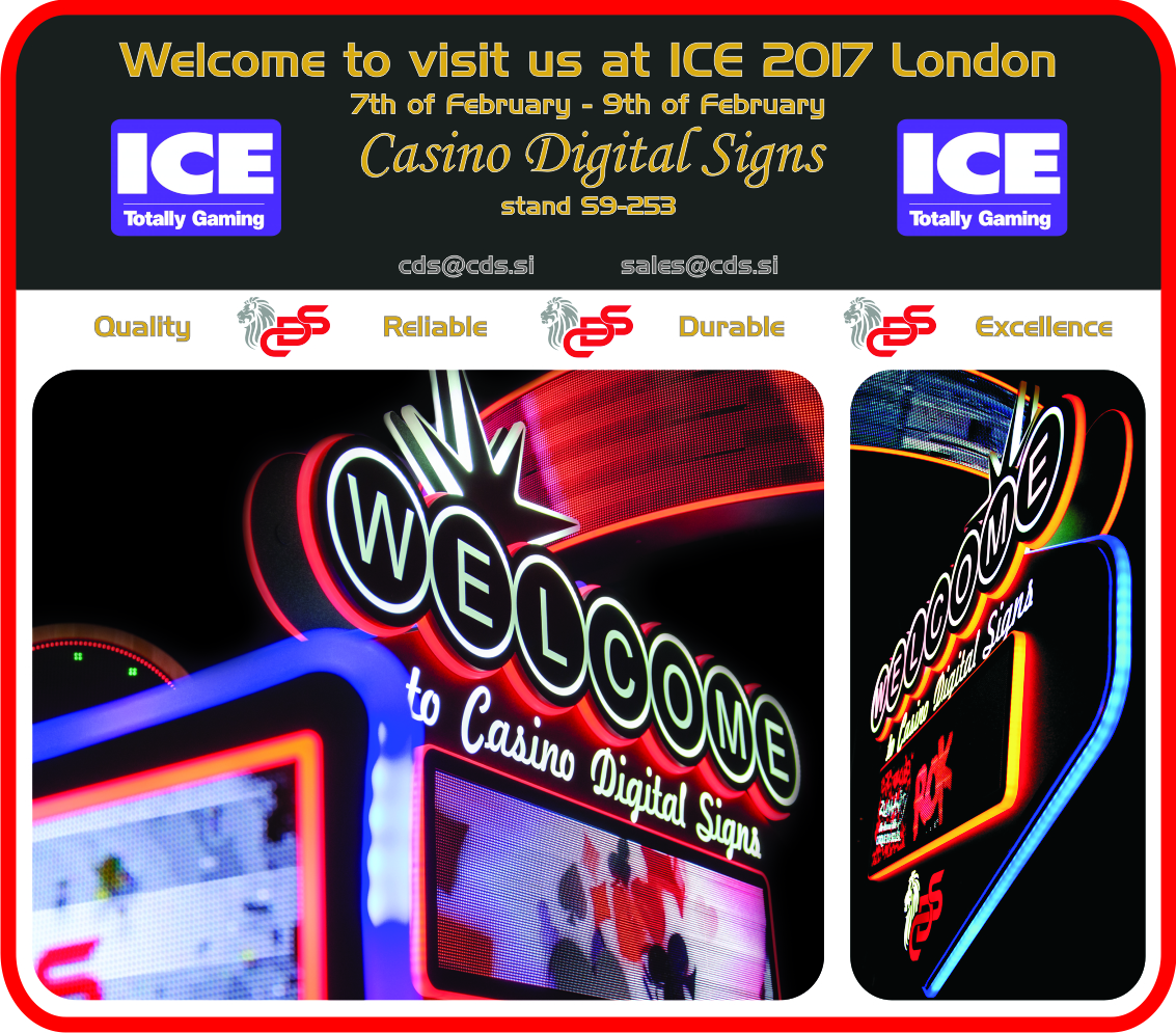 Invitation ICE 2017 - CasinoDigitalSigns