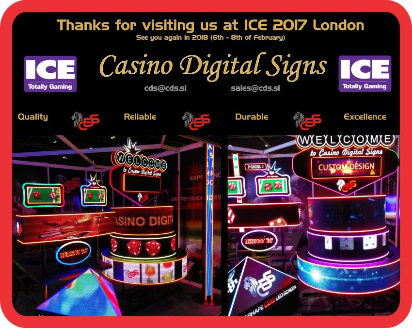 Thanks for visiting ICE 2017 - CasinoDigitalSigns