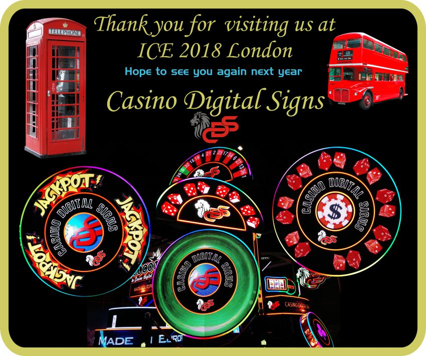 Thank you ICE 2018 - CasinoDigitalSigns-WEB