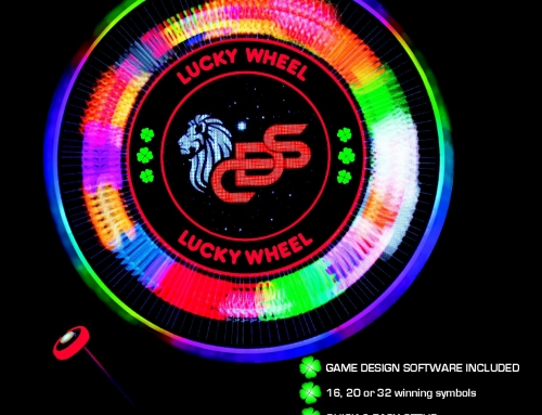 NEW – The First Digital Multi-Game Wheel – Lucky Wheel
